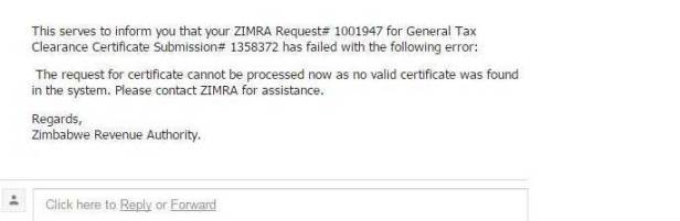 zimra-tax-clearance-error